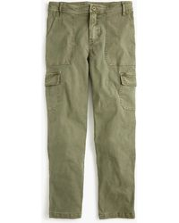 J.Crew The New Straight-leg Cargo Pant - Green