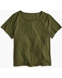 J.Crew - Crewneck T-shirt In Supima Cotton - Lyst