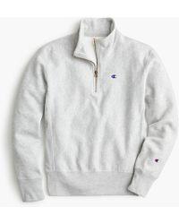Champion - Half-zip Pullover Sweatshirt - Lyst