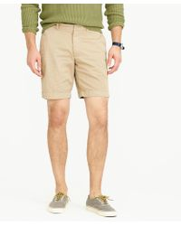 "J.Crew - 9"" Short In Garment-dyed Cotton - Lyst"