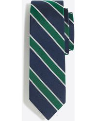 J.Crew - Mercantile Silk Rugby-striped Tie - Lyst