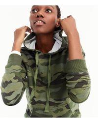 J.Crew - Hoodie Sweatshirt In Camo - Lyst