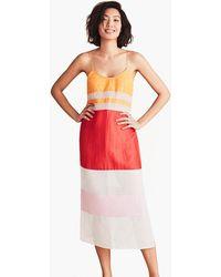 Flagpole Swim - Lexie Dress In Strawberry Tangerine Rose - Lyst