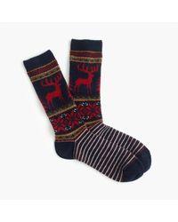 Anonymous Ism - Wool Reindeer Socks - Lyst