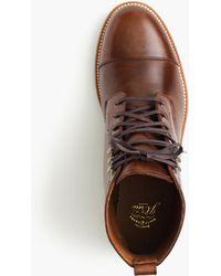 ae88496abf2 Kenton Leather Cap-toe Boots - Multicolour