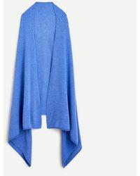 J.Crew Oversized Cashmere Wrap - Blue