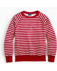 J.Crew - Saint James Striped Sweatshirt - Lyst