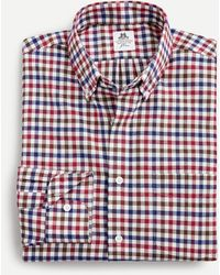 Thomas Mason ® For J.crew Slim-fit Shirt In Check - Red