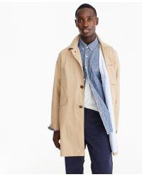 J.Crew Cotton-nylon Raincoat - White