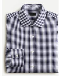 J.Crew - Slim-fit Bowery Wrinkle-free Stretch Cotton Shirt In Gingham - Lyst