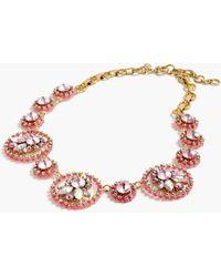 702a464dd319a Lyst - Michael Kors Gold-tone Acetate Logo Pendant Necklace in Metallic