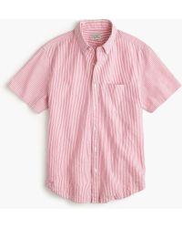 J.Crew - Short-sleeve Shirt In Seersucker - Lyst