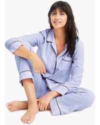 J.Crew Vintage Pyjama Set - Blue