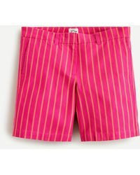 """J.Crew 7"""" Stretch Chino Short In Yarn-dyed Cotton - Multicolor"""