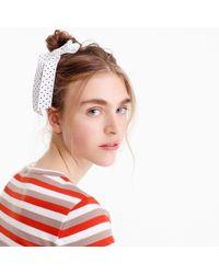 J.Crew - Petersham Ribbon Hair Tie - Lyst