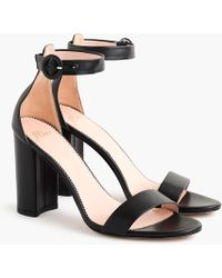 78b1a3170b5 Stella Heel W/ Ankle Strap - Black