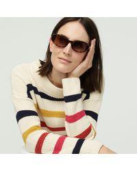 J.Crew Portico Round Sunglasses - Multicolor