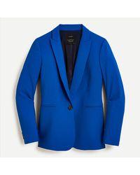 J.Crew Parke Blazer In Italian Stretch Wool - Blue