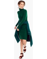 J.Crew - Turtleneck Dress In Supersoft Yarn - Lyst