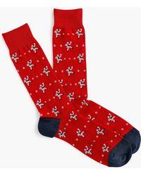 J.Crew - Baseball Pitcher Padded Footbed Socks - Lyst