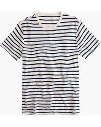 J.Crew - Tall Deck-stripe T-shirt - Lyst