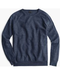J.Crew - Rugged Cotton Sweater - Lyst