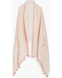 J.Crew - Summerweight Cape-scarf In Pink - Lyst