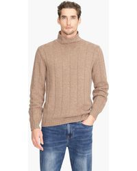 J.Crew - Turtleneck Sweater In Donegal Cashmere - Lyst