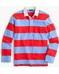 J.Crew - Women's 1984 Rugby Shirt In Stripe - Lyst