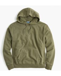 J.Crew - Tall Garment-dyed French Terry Hoodie - Lyst