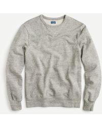 J.Crew French Terry Crewneck Sweatshirt - Gray