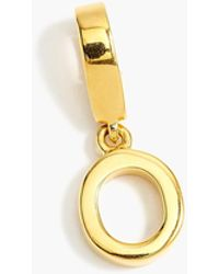 J.Crew - Demi-fine 14k Gold-plated Letter Charm - Lyst