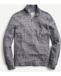 J.Crew Long-sleeve Jaspé T-shirt In Recycled Cotton - Grey
