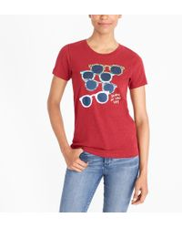 J.Crew - Sunglasses Collector T-shirt - Lyst