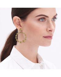 J.Crew - Floral Wreath Statement Earrings - Lyst