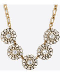 J.Crew - Layered Circle Necklace - Lyst