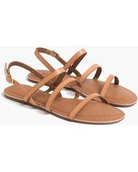 J.Crew Ankle-strap Sandals - Brown