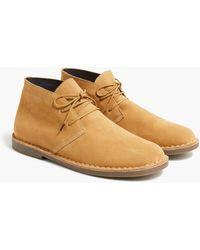 J.Crew Suede Desert Boots - Brown