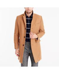 J.Crew - Wool Top Coat - Lyst