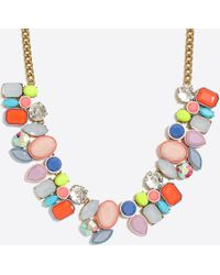 J.Crew - Colorful Fiesta Statement Necklace - Lyst