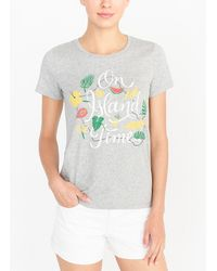 """J.Crew - """"on Island Time"""" Collector T-shirt - Lyst"""