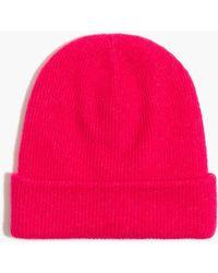 J.Crew Beanie Hat In Extra-soft Yarn - Pink