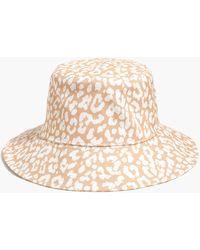 J.Crew - Printed Bucket Hat - Lyst