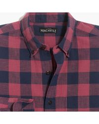 J.Crew - Slim-fit Homespun Shirt In Check - Lyst