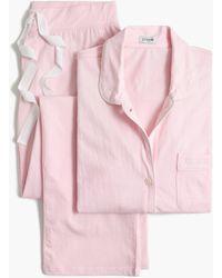 J.Crew Knit Pajama Set - Pink