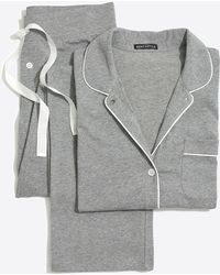 J.Crew Knit Pajama Set