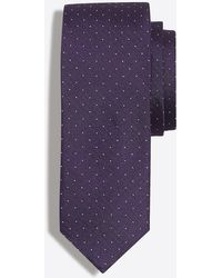 J.Crew - Silk Pindot Tie - Lyst