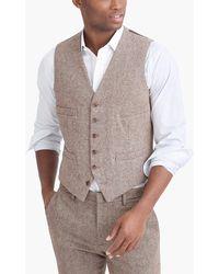 J.Crew - Thompson Vest In Bird's-eye Wool - Lyst