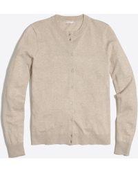 J.Crew - Cotton Caryn Cardigan Sweater - Lyst