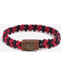 J.Crew - Waxed Thread Bracelet - Lyst